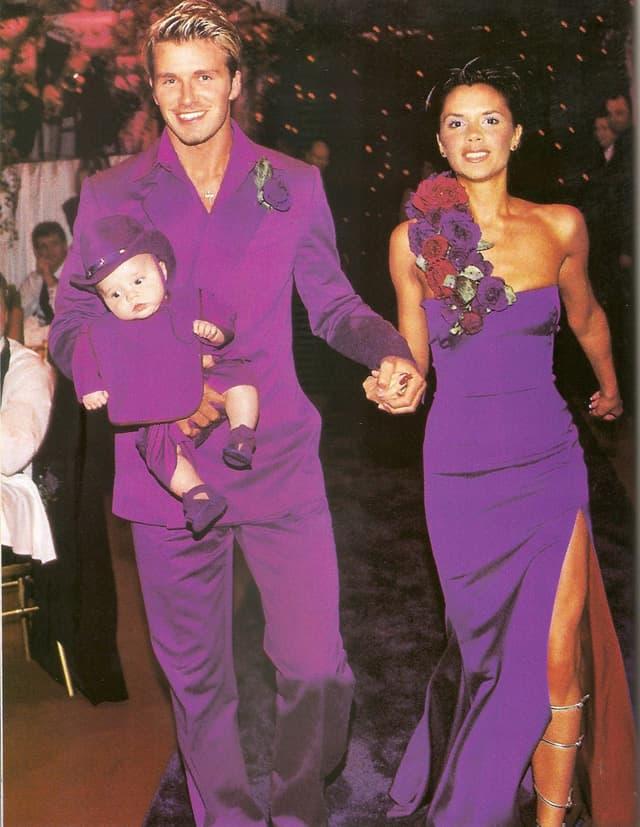 Vencanje slavnog para, 1991. godine (foto: Pinterest)