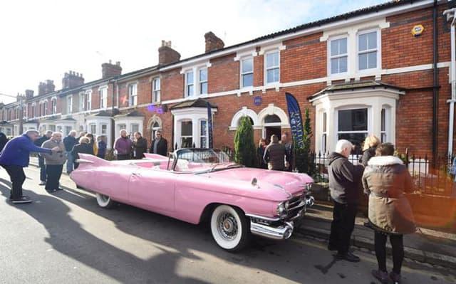 Pink Cadillac koji je vozila (foto: Calyx Pictures)