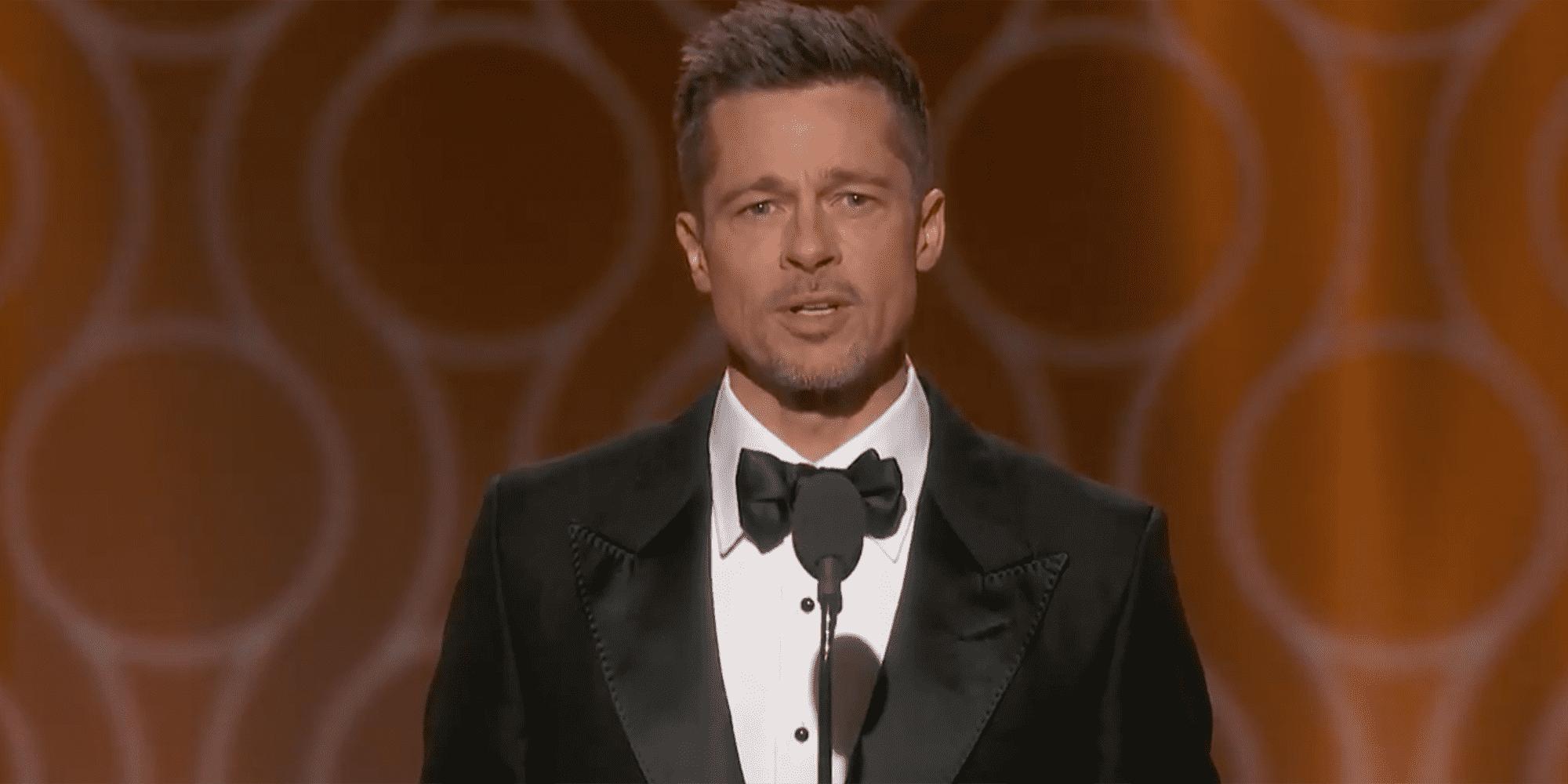 Brad Pitt je takođe bio jedan od prezentera (foto: Screenshot)