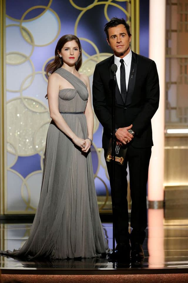 Justin i Anna Kendrick na Golden Globe dodeli nagrada (foto: REUTERS)