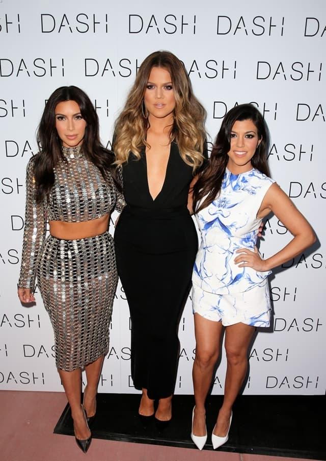 Sestra Kardashian na otvranju jedne od prodavnica DASH (foto: Wenn)