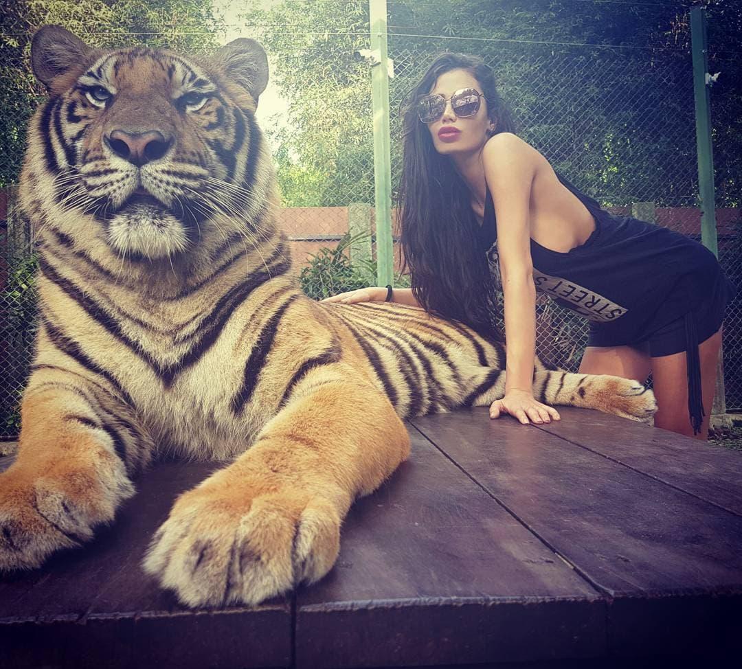 Soraja uživa na Tajlandu (foto: Instagram.com/sorajavucelic9