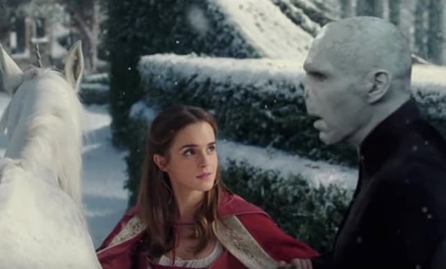 Beauty and the Lord Voldemort (foto: YouTube)
