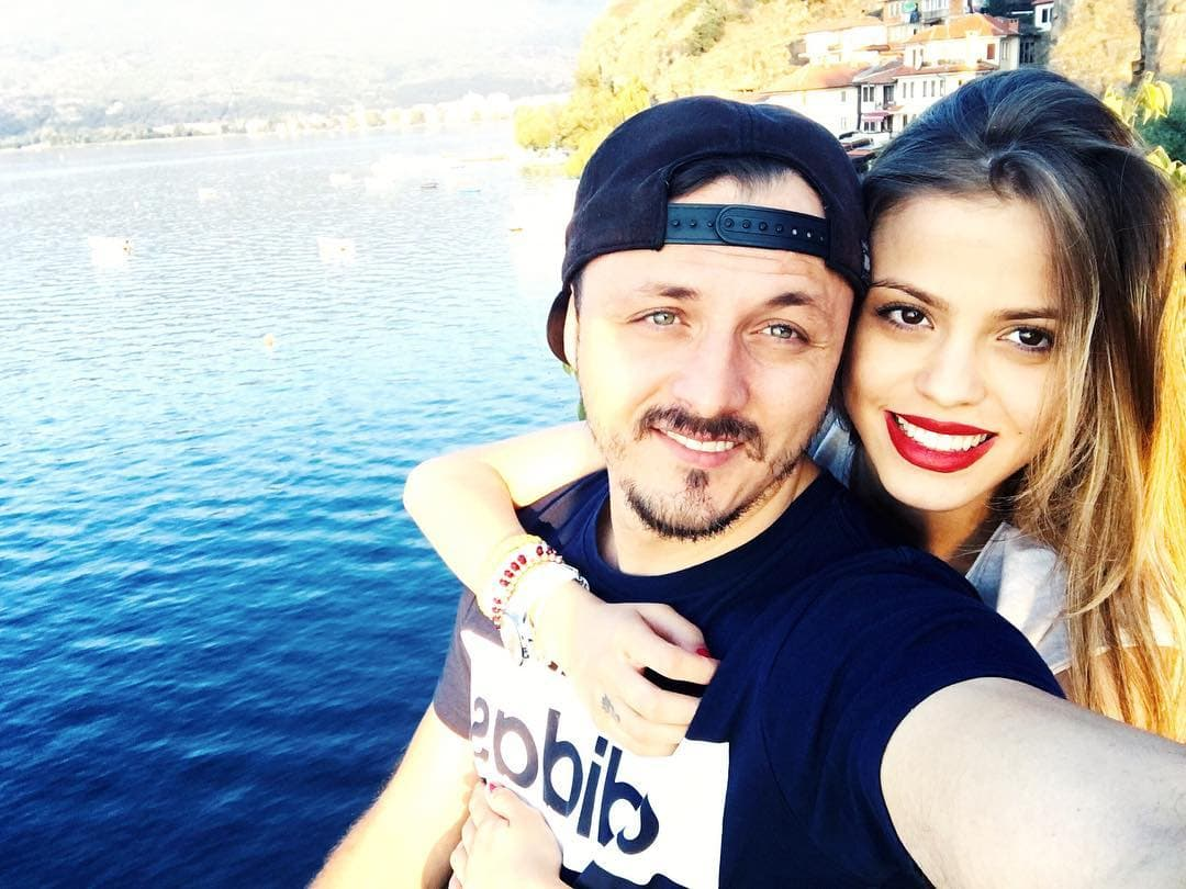 Pevač i njegova izabranica postali su roditelji dečaka (foto: Instagram.com/daniel_kajmakoski)