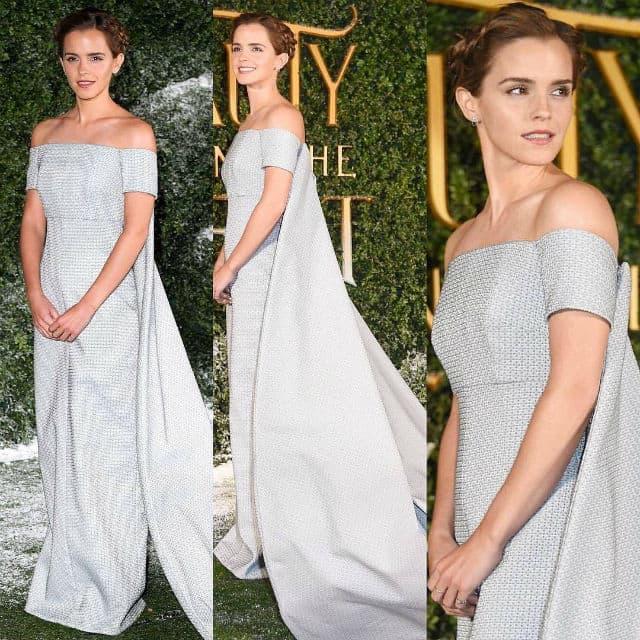 Glumica je blistala na premijeri u Londonu (foto: Instagram/thepresstour)