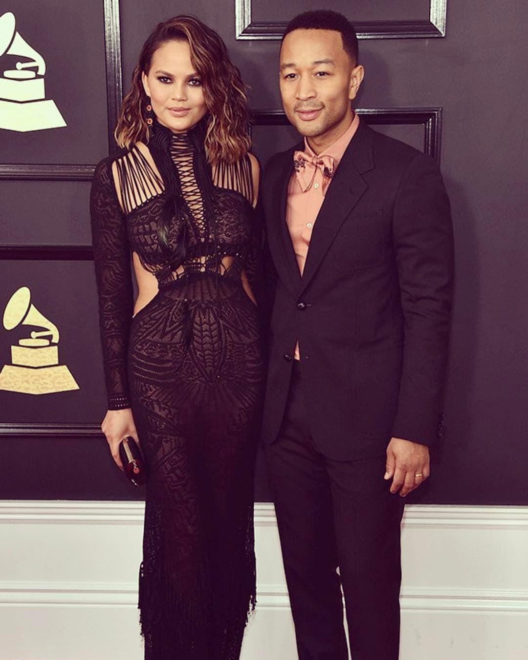 Jon i Chrissy na dodeli Grammyja (foto: Instagram/johnlegend)