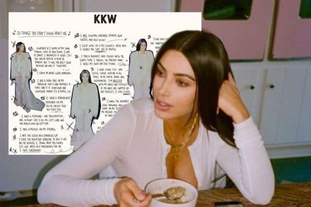 Kim je podelila male tajne sa fanovima (foto: Instagram/ kimkardashian)