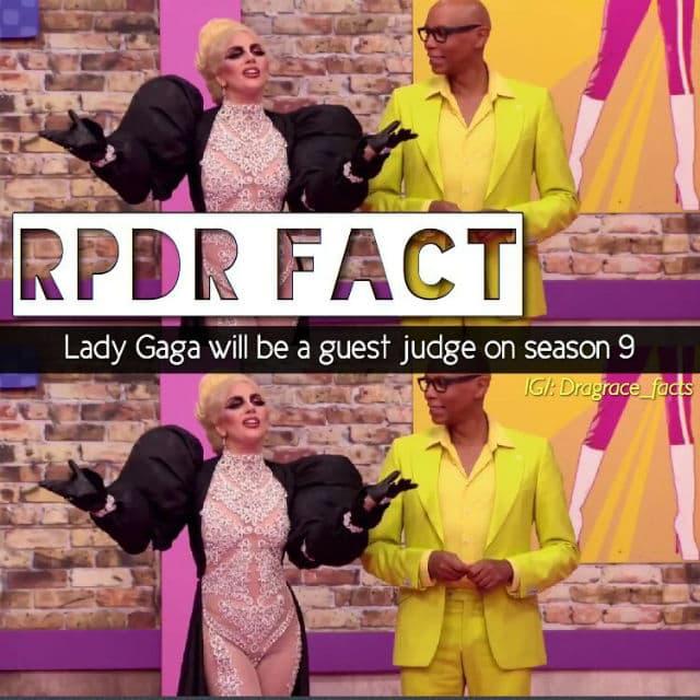 Gaga će biti specijalni gost (foto: Instagram/dragracefacts)