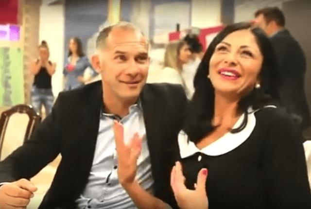 Albert i Mirna iz srećnih dana braka (foto: Screenshot/YouTube/BlicTV/Steven A. Jesse)