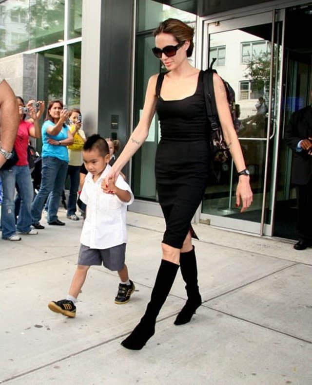 Glumica sa sinom 2007. godine (foto: Wenn)