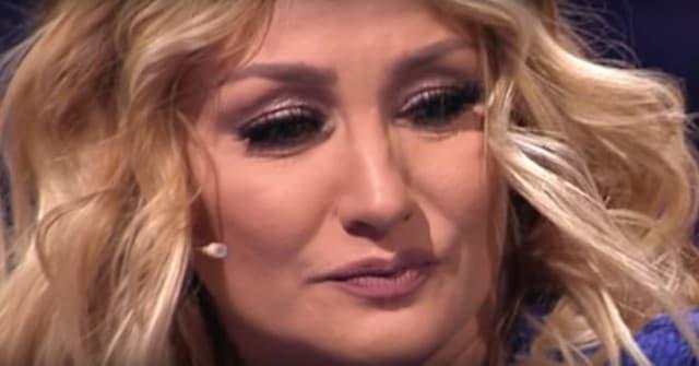 Goca nije mogla da zadrži suze (foto: Screenshot)
