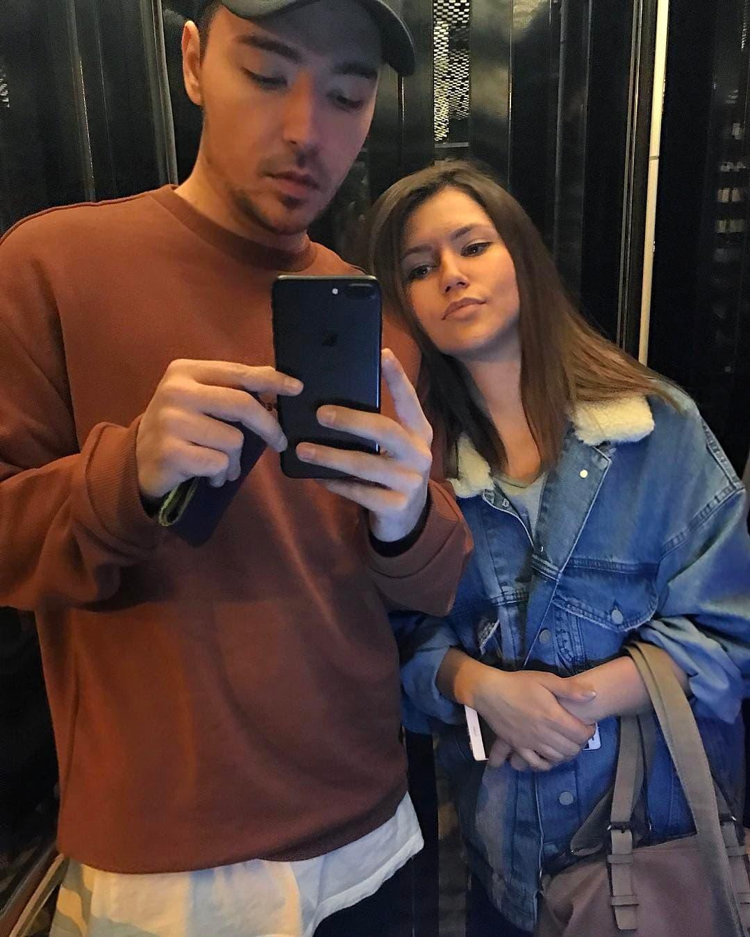 Milan sa sestrom Nastasijom (foto: Instagram.com/milanstankovic)