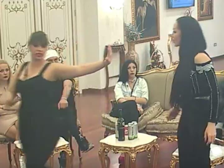 Sa Miljanom je imala stalne i žustre sukobe u rijalitiju (foto: Screenshot)