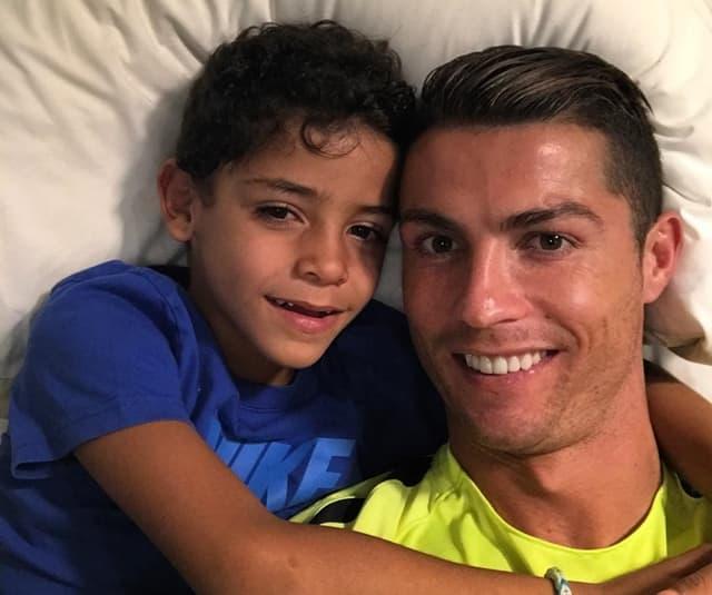 Ronaldo ima sedmogodišnjeg sina (foto: Instagram/ronaldo)