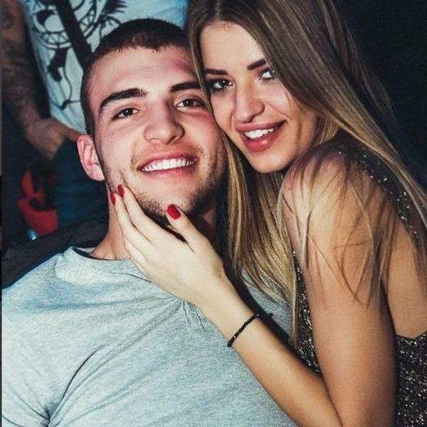 Ana i Veljko su dva meseca bili u vezi (foto: Instagram.com/cakic__ana)