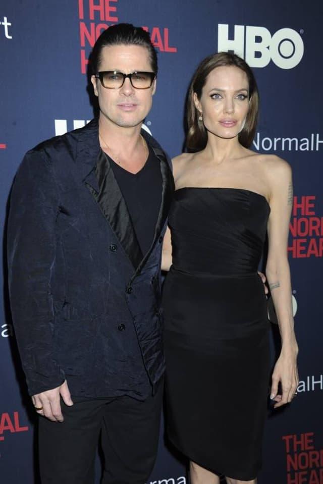 Angelina Jolie i Brad Pitt (foto: Wenn)
