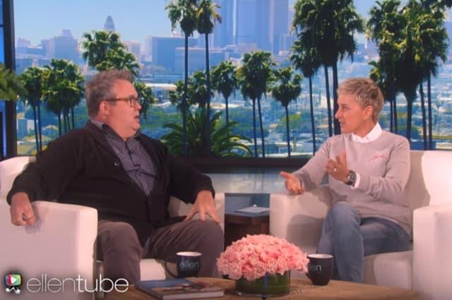 Ellen je ranije obećala da neće više plašiti Erica (foto: Screenshot)
