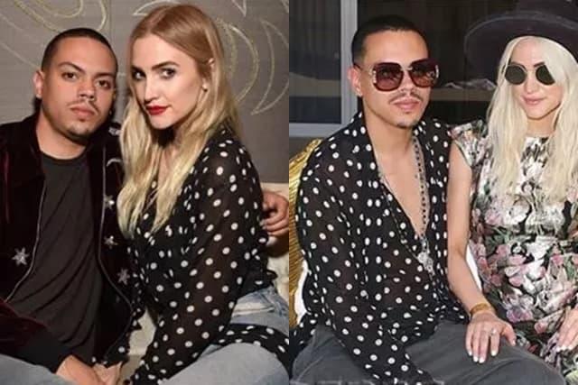 Bračni par u istoj košulji (foto: Wen/Instagram/evanross)