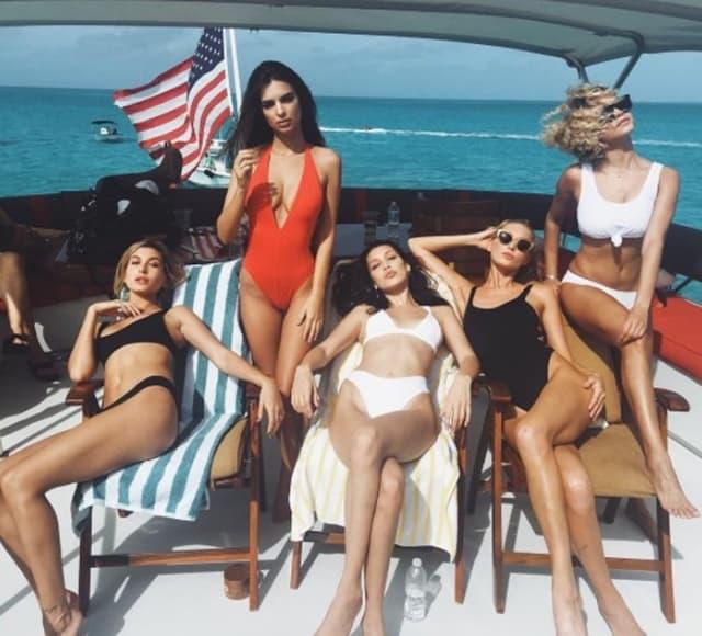 Poznate lepotice su reklamirale festival kao 'Coachellu na Bahamima' (foto: Twitter)