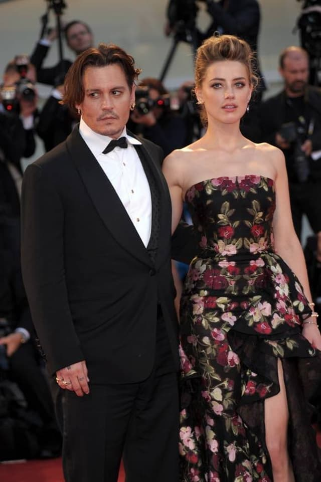Johnny Depp i Amber Heard (foto: Wenn)