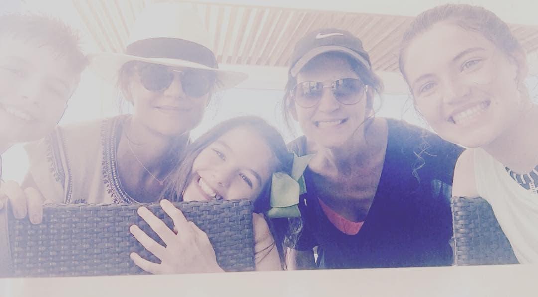 Glumica sa porodicom (foto: Instagram.com/katieholmes212)