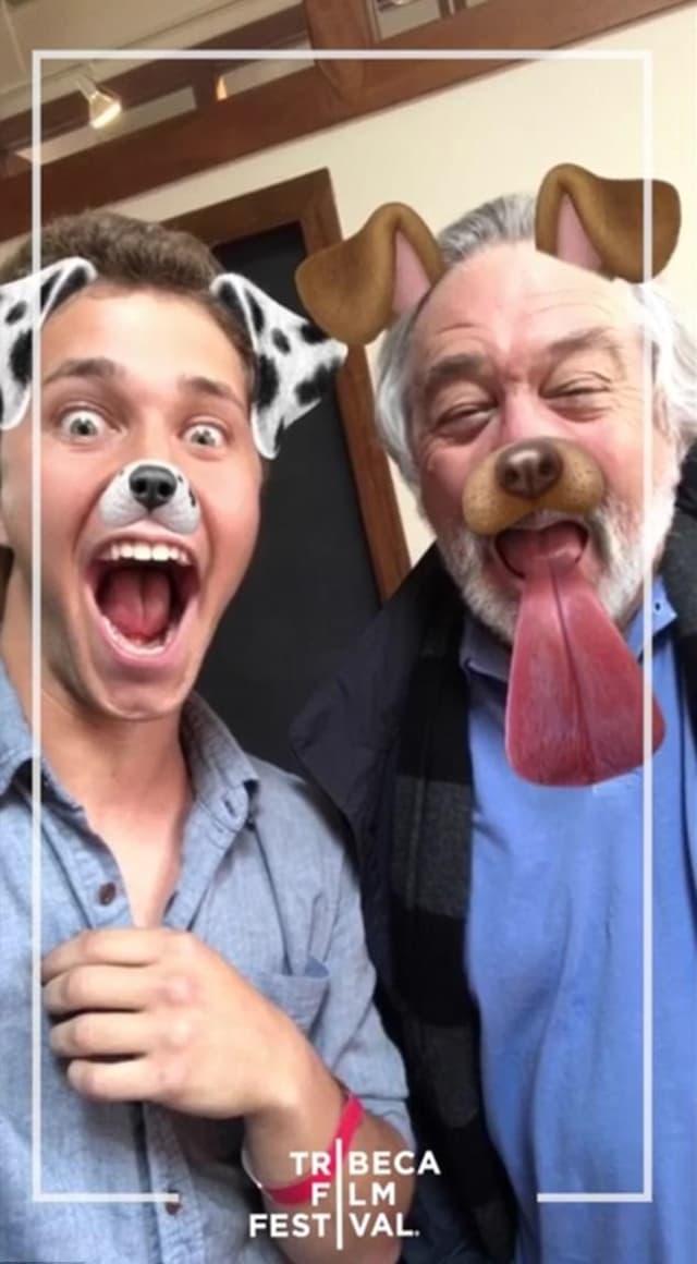 I naravno, morali su probaju i filter psa (foto: Snapchat)