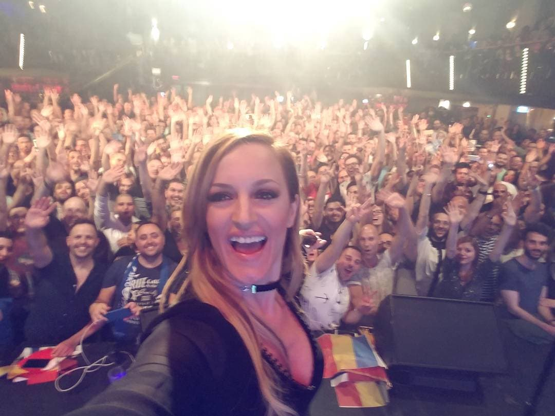 Tijana nastupila na festivalu u Izraelu (foto: Instagram.com/bogicevic_t)