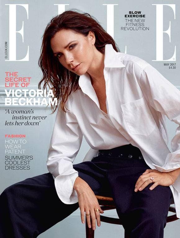 Victoria je na naslovnici majskog broja Ella (foto: ElleUK)