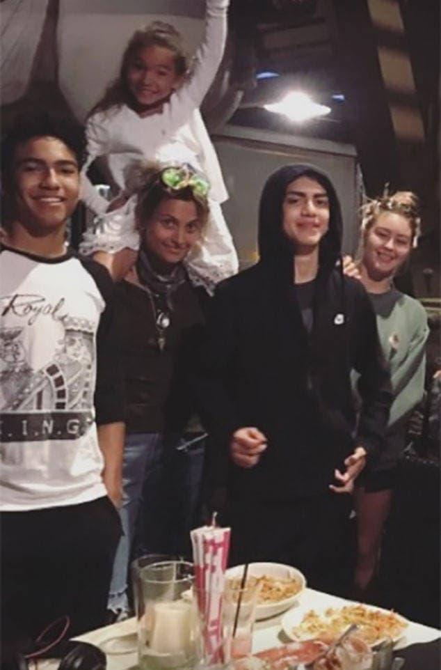 Blanket je nedavno proslavio 15. rođendan (foto: Instagram/parisjackson)