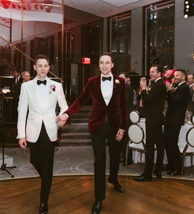 Pa se juče venčao u 'Rainbow Roomu'-u u Njujorku (foto: Instagram.com/therealjimparsons)