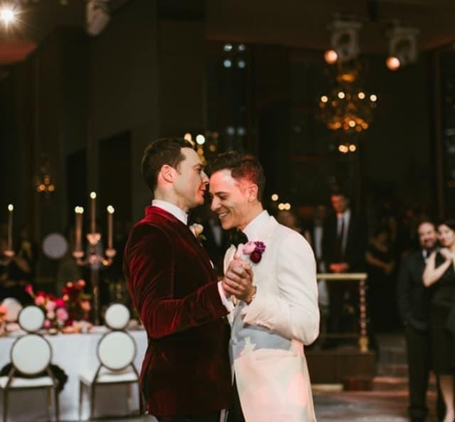 Prvi ples para (foto: Instagram.com/therealjimparsons)