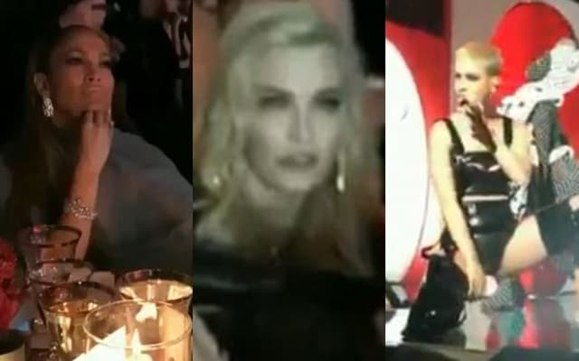 J.Lo i Madonna posmatraju nastum Katy Perry na Met balu (foto: Screenshot)