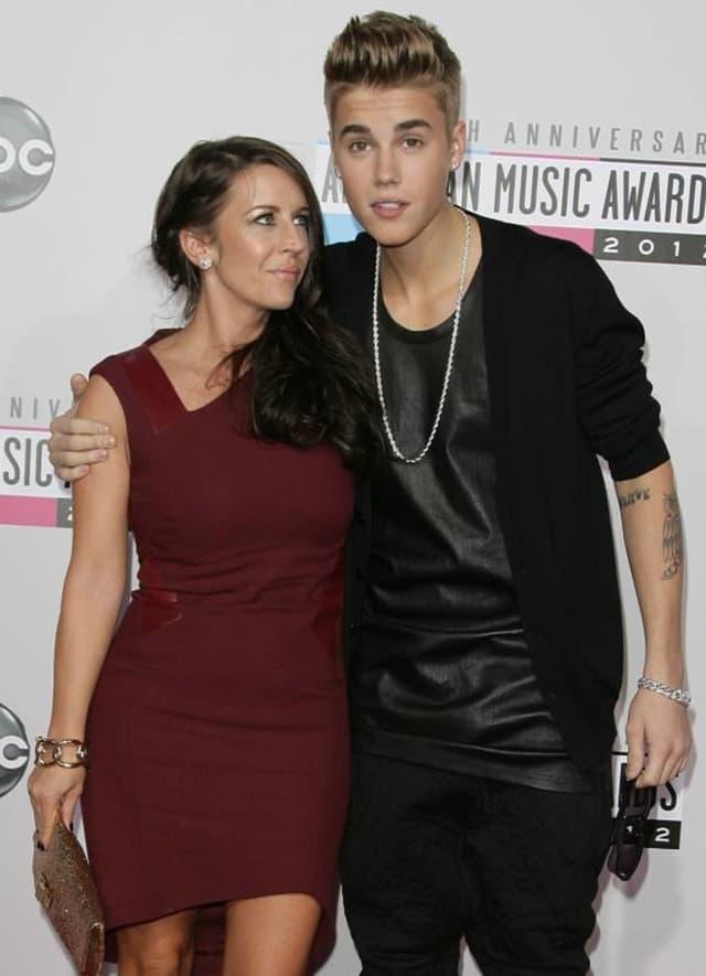Justin Bieber sa majkom Pattie Mallette (foto: Wenn)