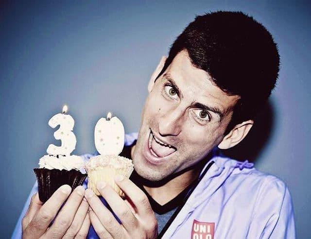 Srećan rođendan, Nole (foto: Instagram.com/tennisinarabic)
