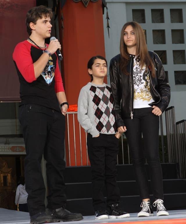 Michaelova deca u januaru 2012. godine (foto: Wenn)
