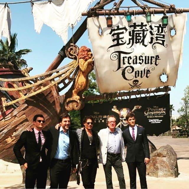 Junaci filma na premijeri u Šangaju (foto: Instagram.com/orlandobloom)
