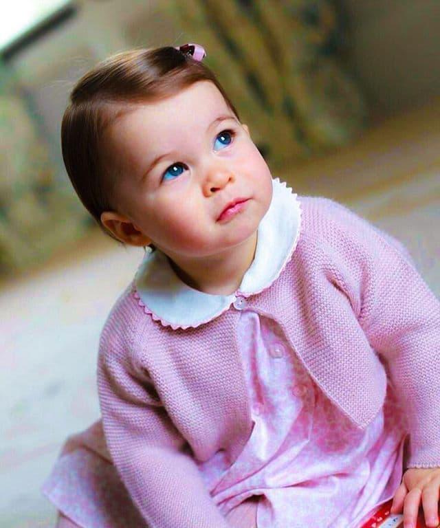Ovako je Princeza Charlotte izgledala pre godinu dana, na svoj prvi rođendan (foto: Instagram.com/kensingtonroyal)