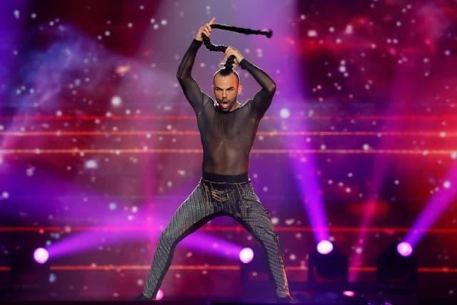 Slavko je proglašen za najgore obučenog takmičara na Eurosongu (foto: Eurovision.tv)