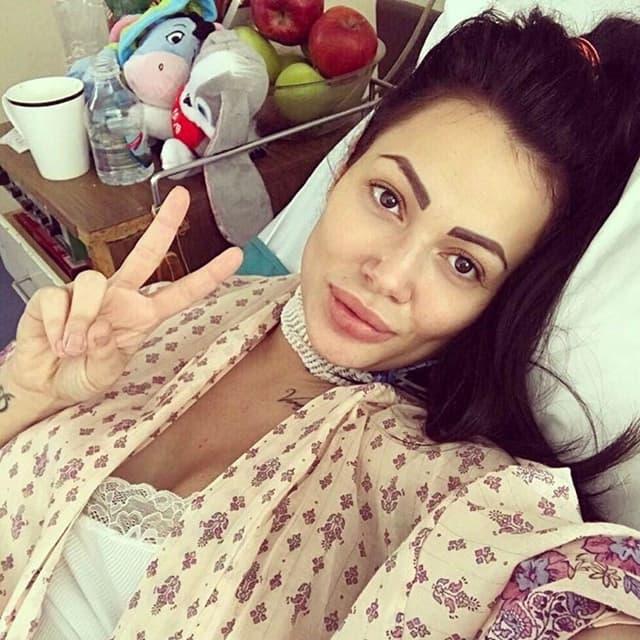Tamara je obožavaocima poslala pozdrave iz bolničke postelje (foto: Instagram.com/tamarastar89)