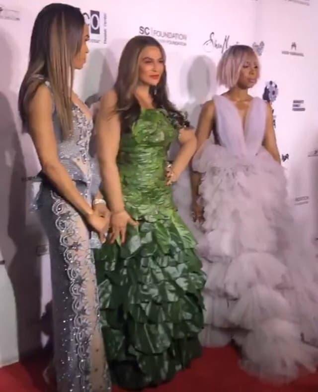 Tina Knowles sa MIchelle Williams i Kelly Rowland (foto: Screenshot)