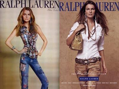 Fotografija koja je digla prašinu pre 8 godina – Devojka sa reklame tadašnje kolekcije Ralph Laurena je u Aziji isfotošopirana tako da se uklapa u njihov standart lepote (fotka sa leve je reklama prikazana u Japanu, a fotka sa desne u Americi)