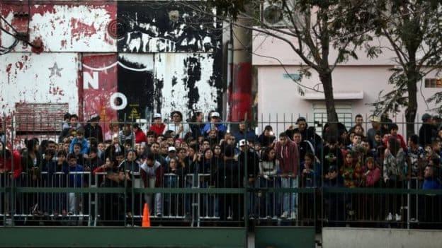 Fanovi su čekali legendu (foto: BBC)