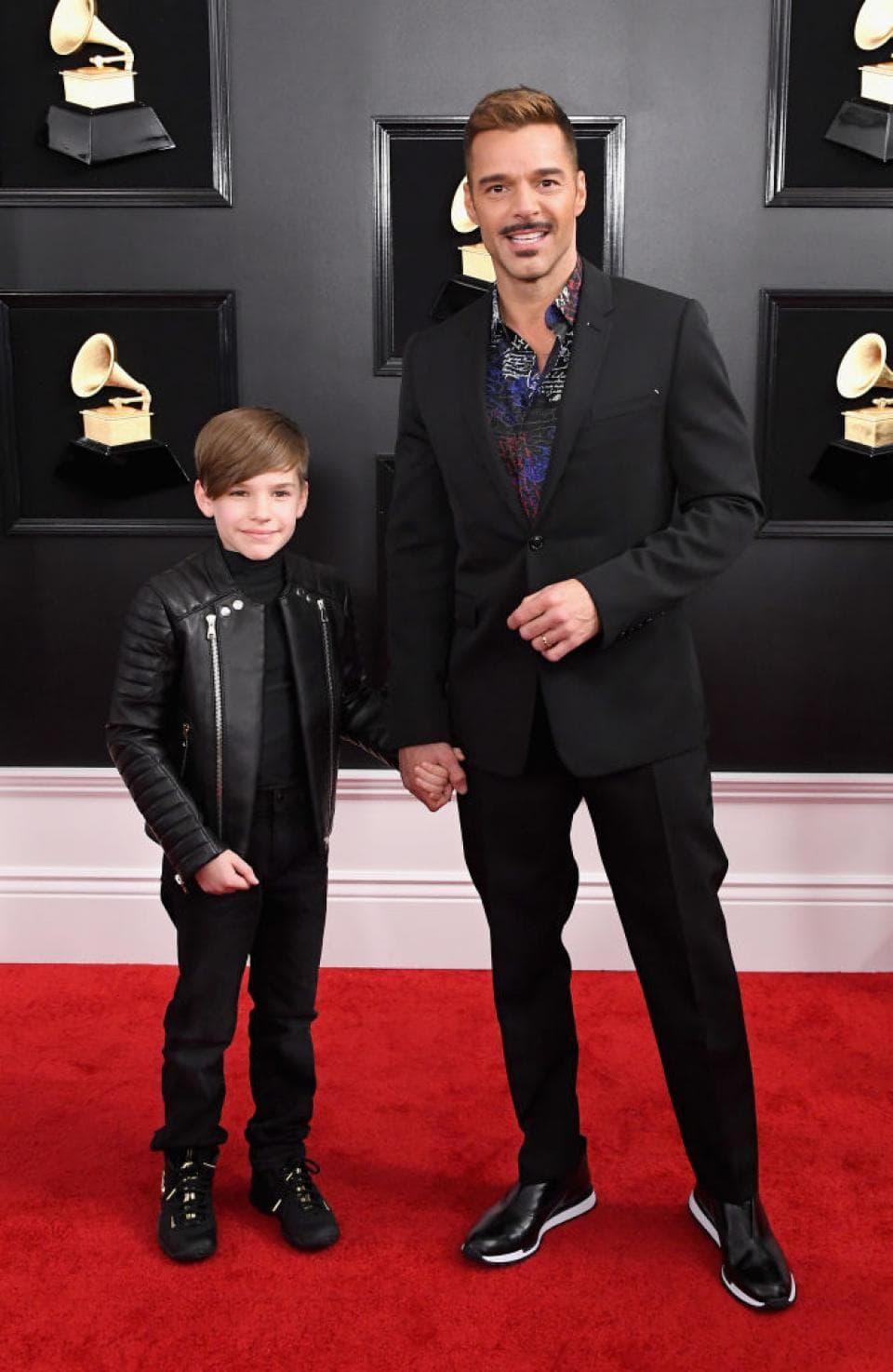 Ricky Martin sa sinom Mateom Martinom