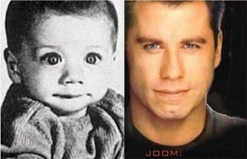Džon Travolta kao dečak
