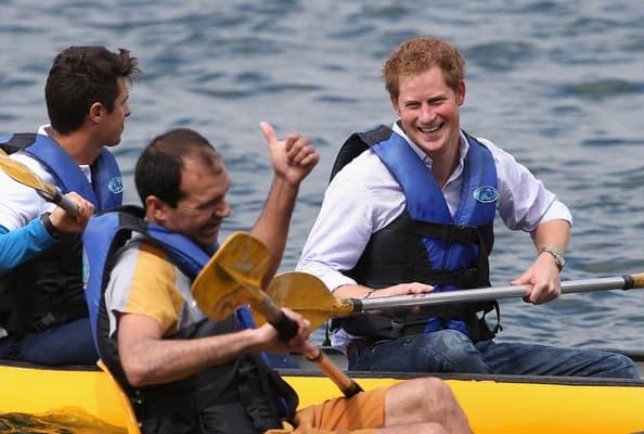 Kanuing sa princem Harryjem. 23. jun, jezero Paranoa, Brazil
