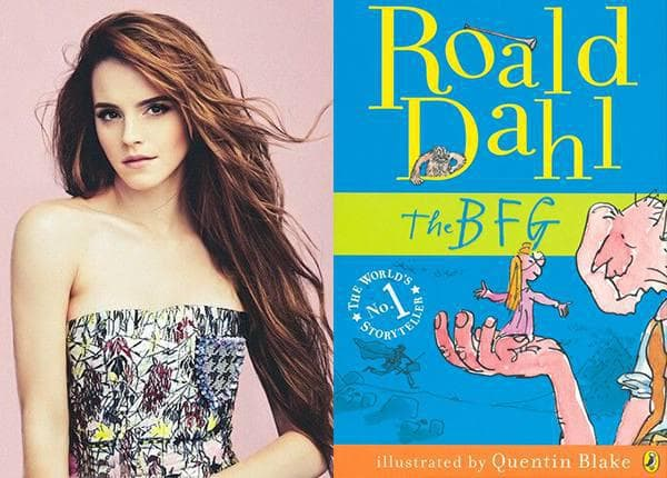 Emma Watson - The BFG by Roald Dahl