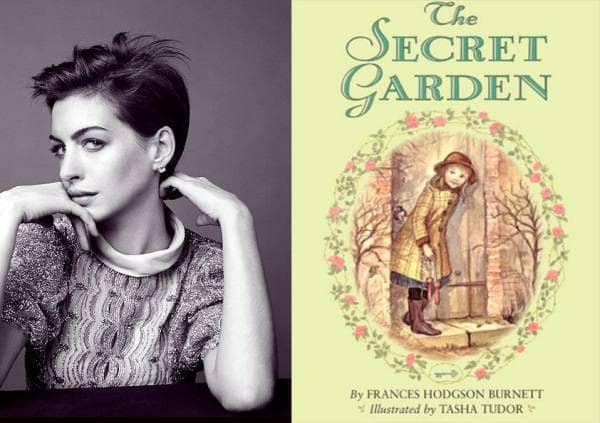 Anne Hathaway - The Secret Garden, Frances Hodgson Burnett