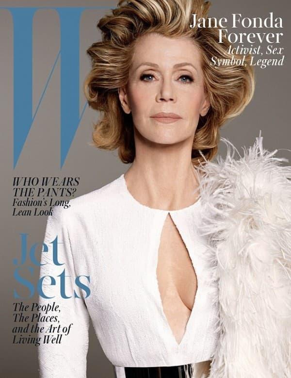 Ušla u istoriju kao najstarija žena na naslovnici eminentnog magazina (foto: W)