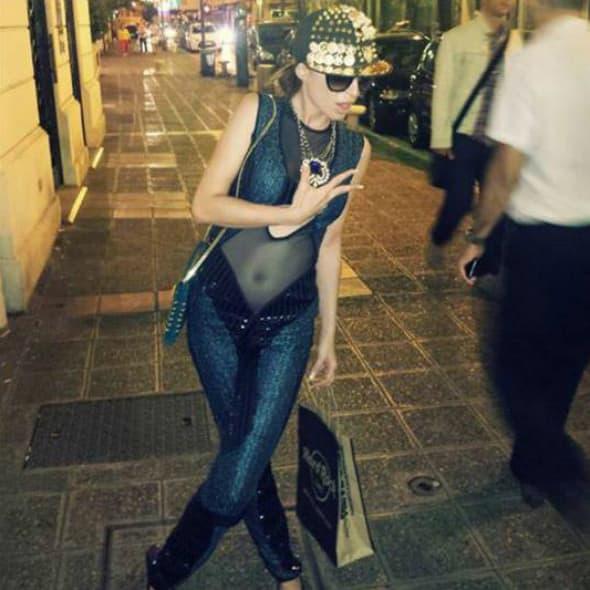 Anastasija u šetnji gradom (foto: Facebook)