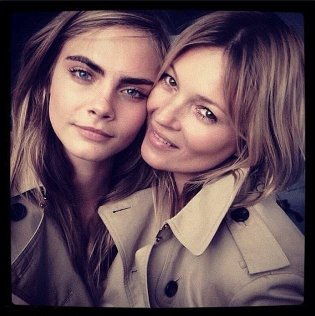 Top modeli su prethodno zajedno radile kampanju za Burberry-jev parfem (foto: Instagram)